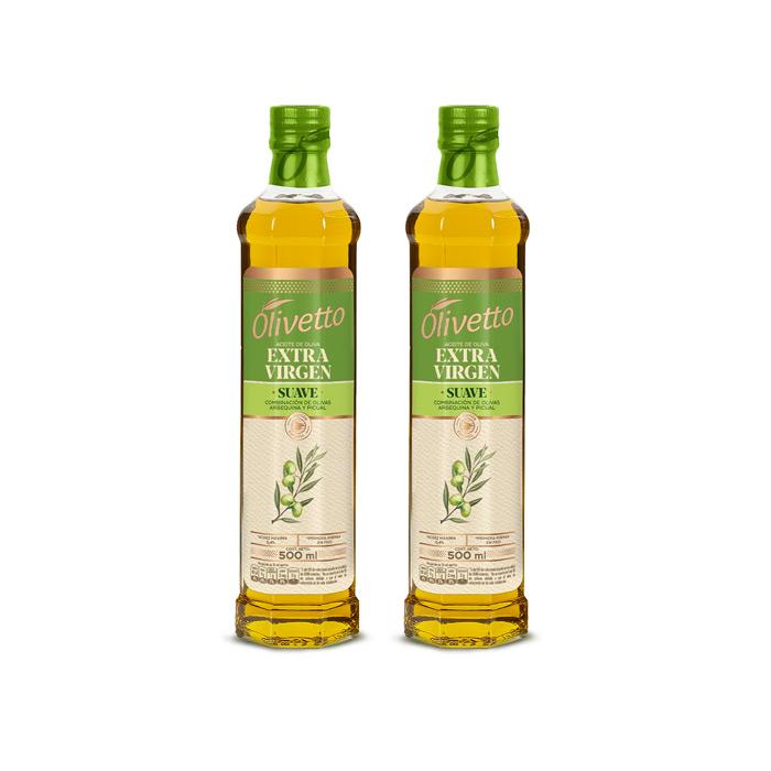 Aceite De Oliva Extra Virgen Suave marca Olivetto