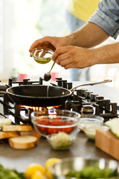Aceite de oliva para freír: ¡rompe el mito y úsalo!