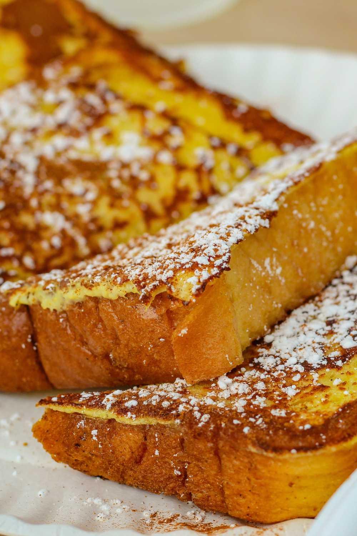 Brunch: tostadas francesas.