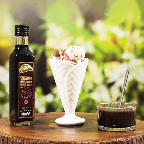 Caramelo con vinagre balsámico