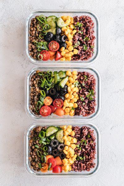 Ideas de meal prep para preparar en tu semana