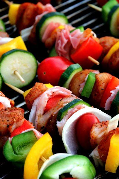 Parrilla de frutas y verduras: un manjar que debes probar