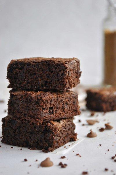 5 postres con aceite de oliva: brownies.